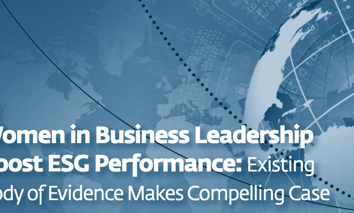 Mulheres na liderança resultam em melhor desempenho de empresas