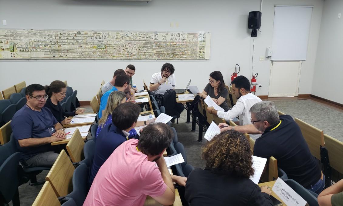 II Curso de Capacitação de Professores em Simulações da ONU