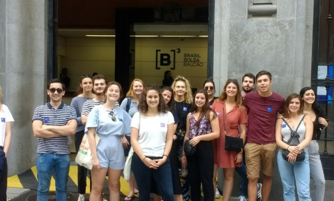 MBA Internacional: visita guiada à cidade de São Paulo