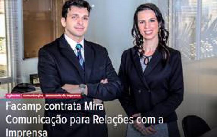 Mira Comunicação assume a assessoria de imprensa da FACAMP