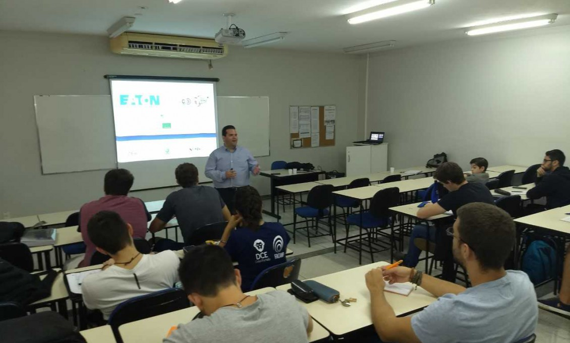 Engenharia de Manufatura: palestra do Engenheiro João Francisco Beck da Silva, da Eaton