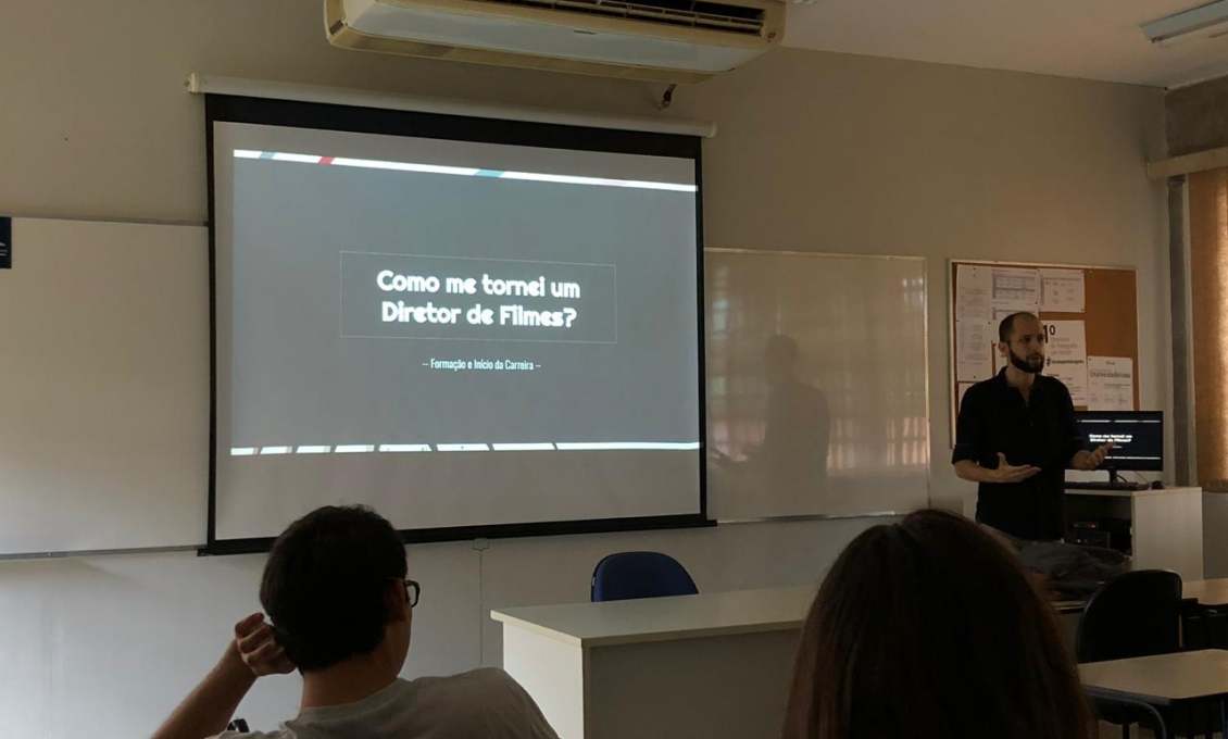 """""""Como me tornei um diretor de filmes?"""": palestra do Sr. Diego Ruiz de Aquino, da Lokomotiv Studio"""