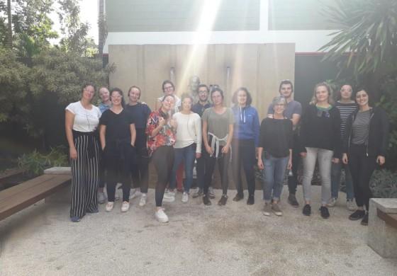 Alunos da ICN Business School em visita à empresa Ypê