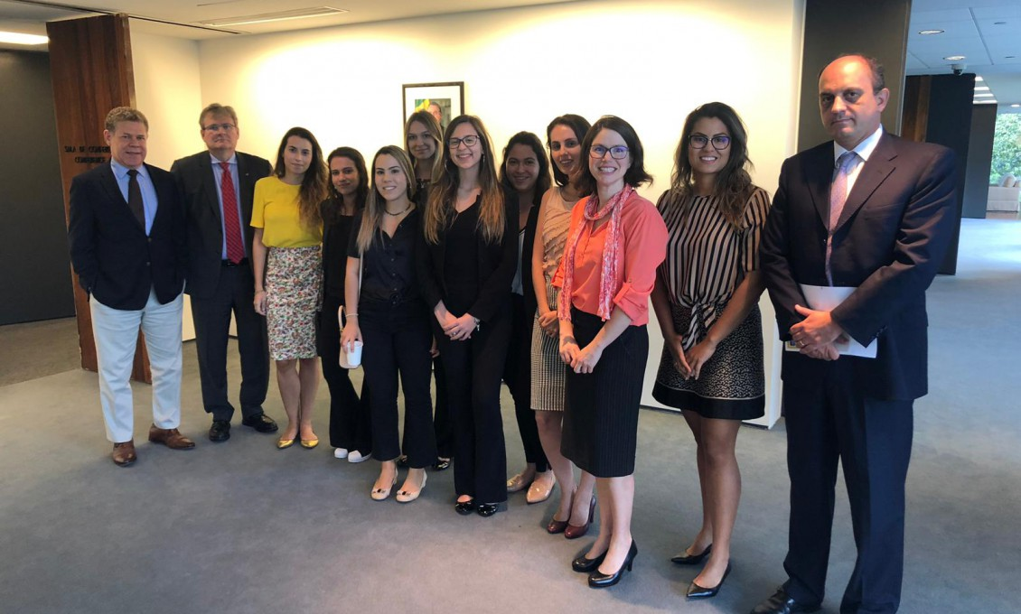Educação Internacional: visita à Embaixada do Brasil em Washington