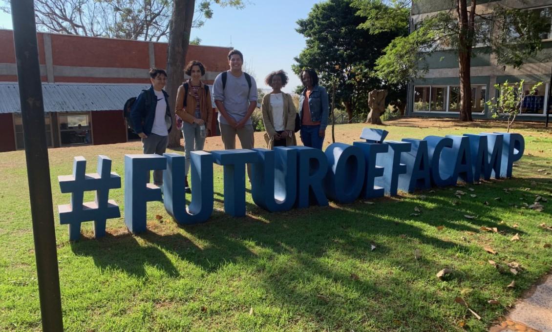 Estudantes do St. Francis College na FACAMP
