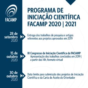 Iniciação Científica FACAMP - 2020/2021