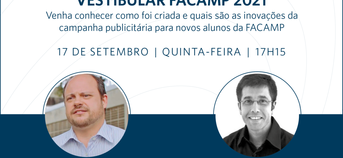 Making-of da Campanha do Vestibular FACAMP 2021
